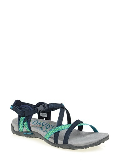 Merry See Sandalet Lacivert